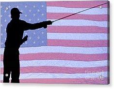 American Fisherman Acrylic Print