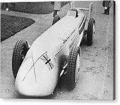 Silver Bullet Race Car Acrylic Print by Underwood Archives