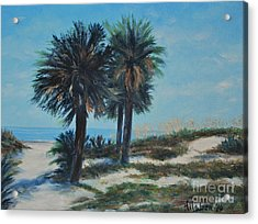 Singleton Beach Acrylic Print