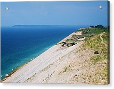 Sleeping Bear Dunes Acrylic Print