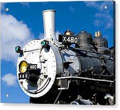 Smiling Locomotive Acrylic Print