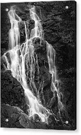 Smokey Waterfall Acrylic Print by Jon Glaser