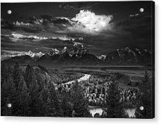 Snake River Overlook Acrylic Print by Andrew Soundarajan