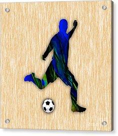 Soccer Player Acrylic Print