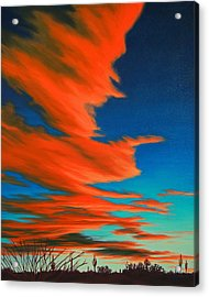 Sonoran Sky Acrylic Print