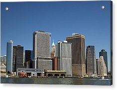 Acrylic Print featuring the photograph South Ferry by Jim Poulos
