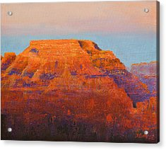 South Rim Sunset Acrylic Print