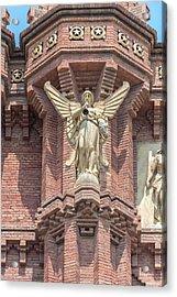 Spain, Barcelona, Arc De Triomf (large Acrylic Print
