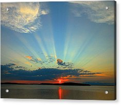 Splendor In The Sky Acrylic Print