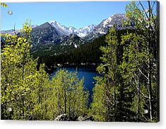 Spring At Bear Lake Acrylic Print by Tranquil Light  Photography