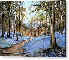 Spring In Wentwood Acrylic Print