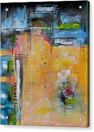 Acrylic Print featuring the painting Spring by Nicole Nadeau