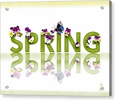 Spring Acrylic Print by Veronica Minozzi