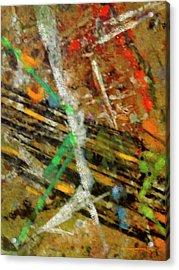 Spruzzi I Acrylic Print