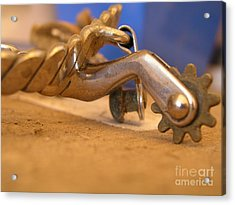 Silver Spurs - Photography By Valentina Miletic Acrylic Print
