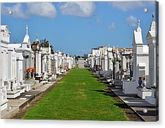 St Louis Cemetery No 3 New Orleans Acrylic Print