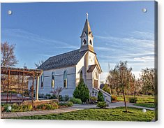 Acrylic Print featuring the photograph St. Mary's Chapel by Jim Thompson