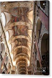 Acrylic Print featuring the photograph St. Nicholas Church by Deborah Smolinske