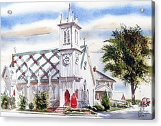 St Pauls Episcopal Church  Acrylic Print by Kip DeVore