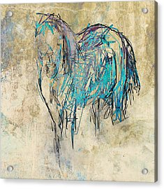 Standing Horse Acrylic Print