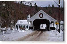 Stark Covered Bridge. Acrylic Print
