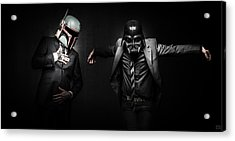 Starwars Suitup Acrylic Print