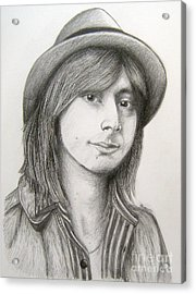 Steve Perry Acrylic Print by Patrice Torrillo
