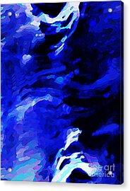 Storm At Sea Acrylic Print by Sarah Loft