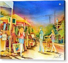 Street Art Fair Acrylic Print