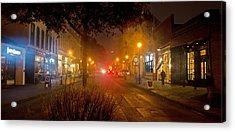 2 Street East Acrylic Print