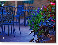 Summer Patio Acrylic Print