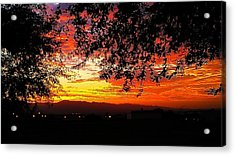 Acrylic Print featuring the photograph Sunrise by Chris Tarpening