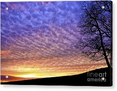 Sunrise Drama Acrylic Print by Thomas R Fletcher