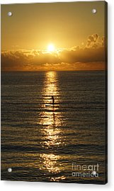Sunrise In Florida Riviera Acrylic Print