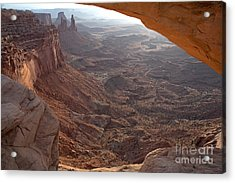 Sunrise Mesa Arch Canyonlands National Park Acrylic Print