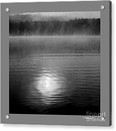 Sunrise Over Lower Lake Rhoda Acrylic Print