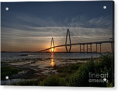 Sunset Over The Bridge Acrylic Print