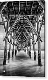 Acrylic Print featuring the photograph Surf City Pier by Ben Shields