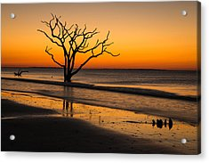 Surreal Sunrise Acrylic Print by Serge Skiba
