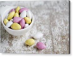 Sweet Candy Acrylic Print by Nailia Schwarz