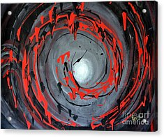 Swirling Around Acrylic Print