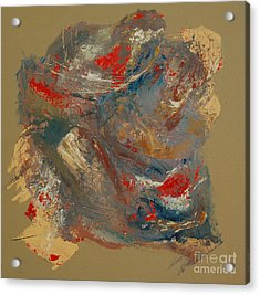 Acrylic Print featuring the painting Syncopation 2 by Mini Arora
