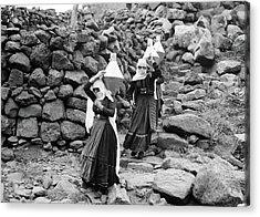 Syria Druze Women, 1938 Acrylic Print by Granger