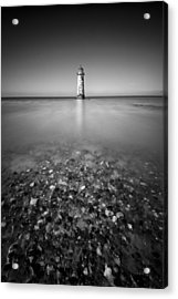 Talacre Lighthouse Acrylic Print by Dave Bowman