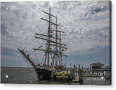 Acrylic Print featuring the photograph Tall Ship Gunilla by Dale Powell