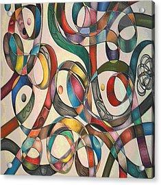 #2 Tangled Series Acrylic Print