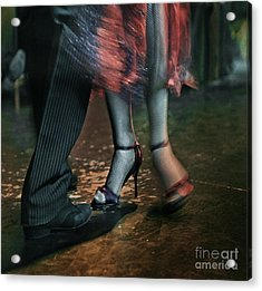 Acrylic Print featuring the photograph Tango - The Dance by Michel Verhoef