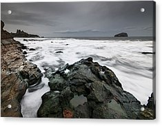 Tantallon Castle Acrylic Print by Keith Thorburn LRPS