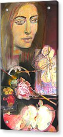 Acrylic Print featuring the pastel Taste Of Things To Come by Brooks Garten Hauschild