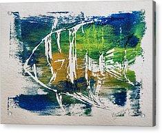 Technicolor Fish Acrylic Print by Patricia Januszkiewicz